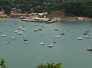 San Juan del Sur Top View